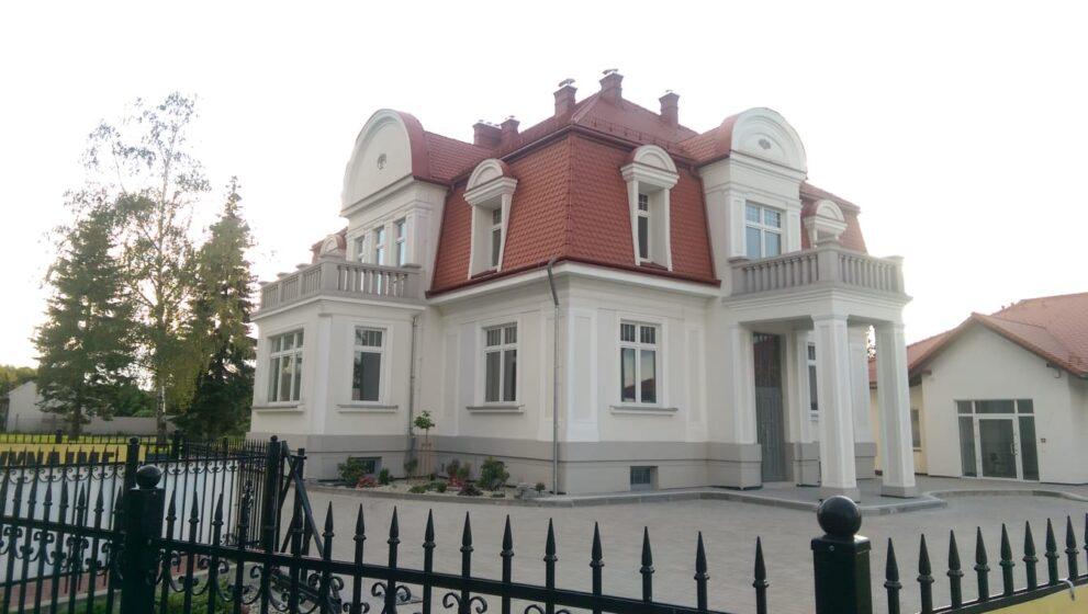 Budynek objęty ochroną konserwatorską